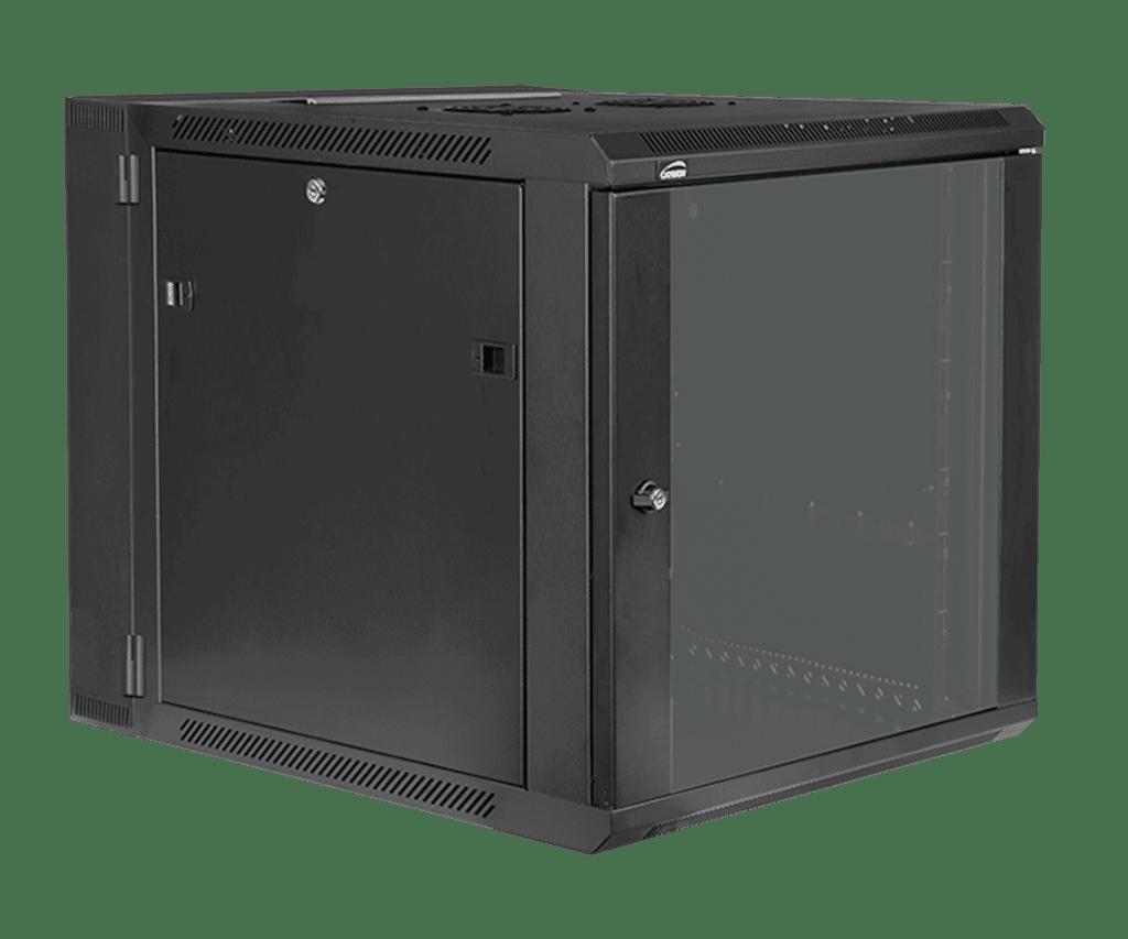 "Double section 19"" wall mountable rack - 12 units - 550mm depth"