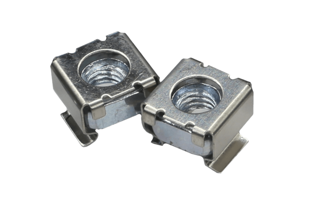 KM600 - M6 cage nut for 0.5 - 2.0 mm plate thickness