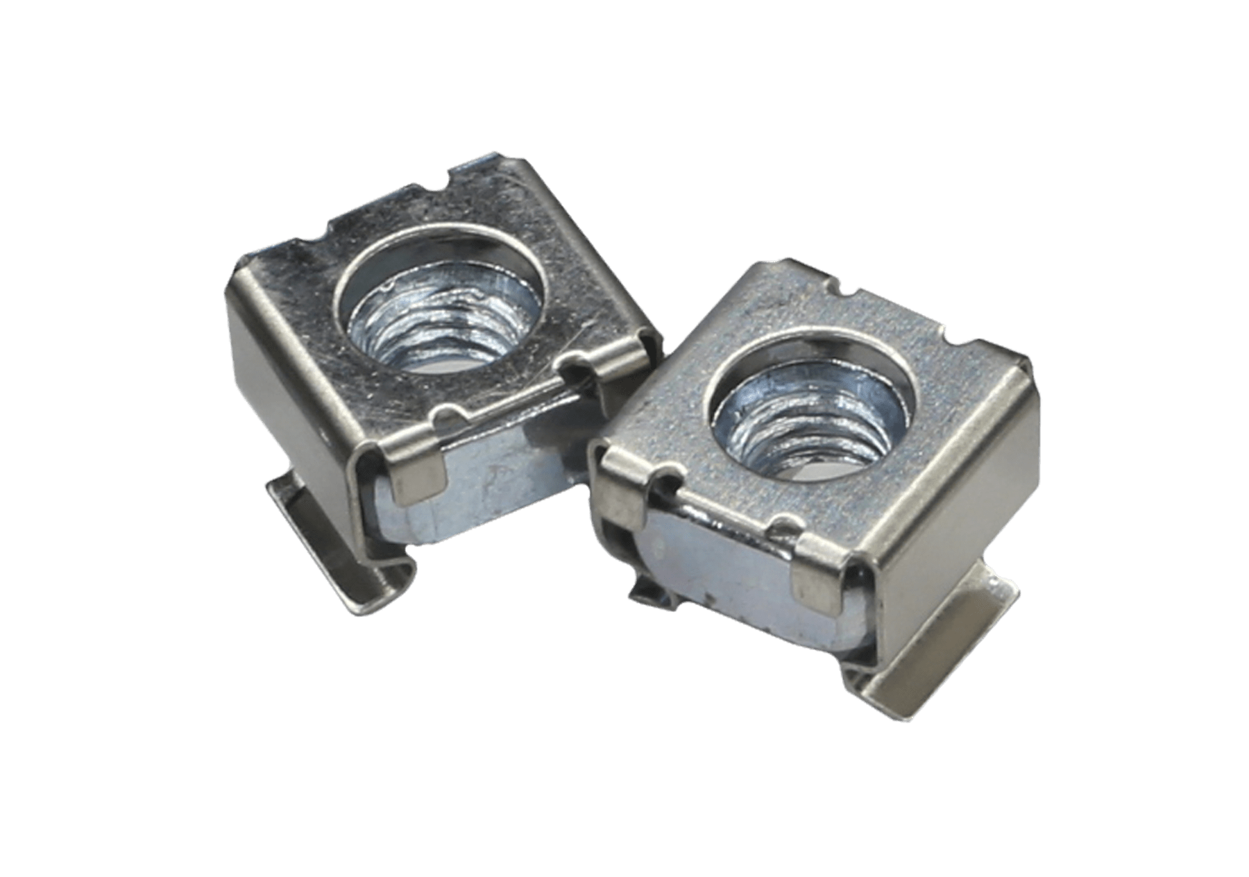 KM600A - M6 cage nut for 1.6 - 3.5 mm plate thickness