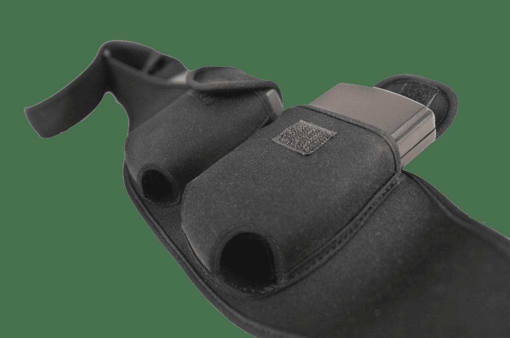 MWP200 - Double transmitter belt & pouch