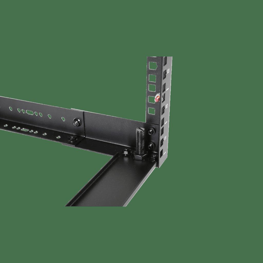"""OPR312A - 19"""" in depth adjustable open-frame rack - 9 unit - 300 ~ 450mm"""