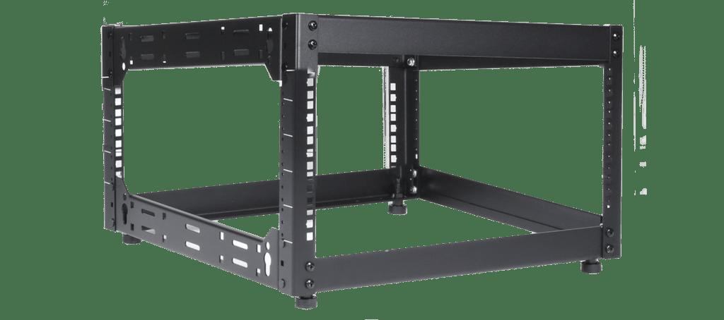 """OPR506 - 19"""" open frame rack - 6 units - 500 mm depth"""