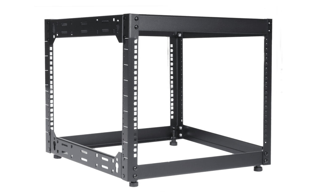 "OPR509 - 19"" open frame rack - 9 units - 500 mm depth"