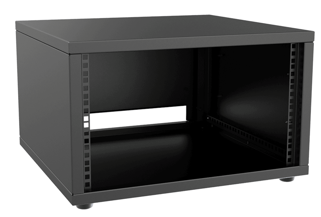 "PR206 - 19"" rack cabinet - 6 units - 500mm depth"