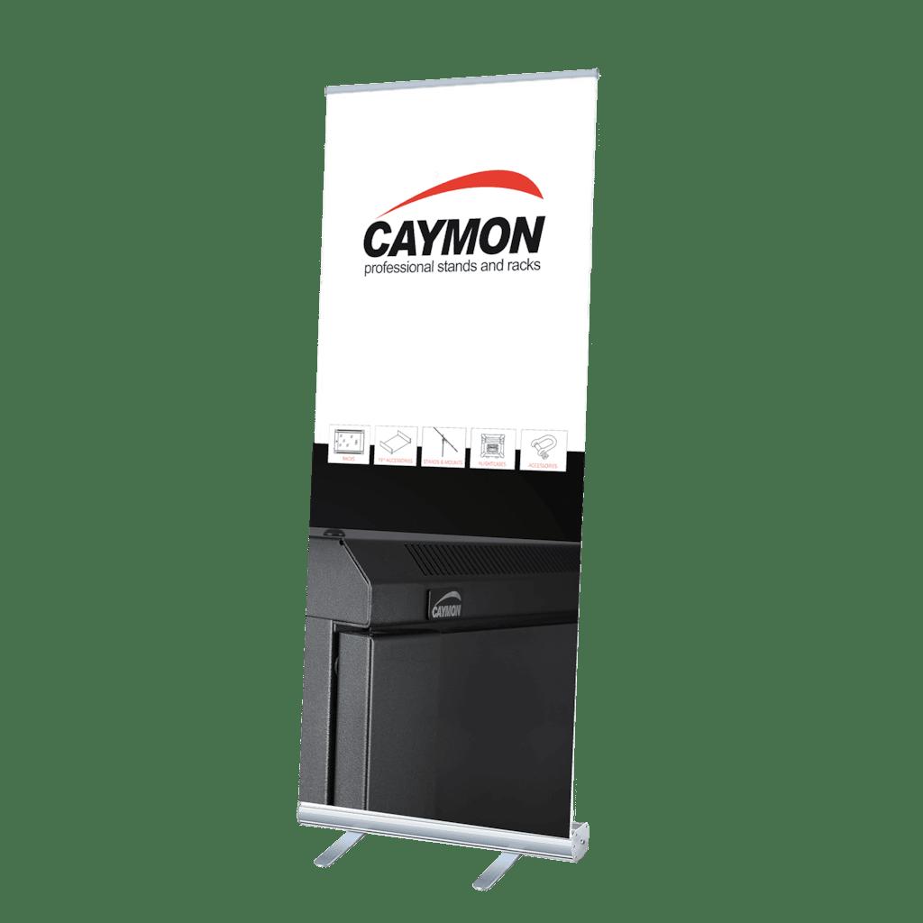 PROMO4092 - CAYMON roll-up display stand  200 x 85 cm