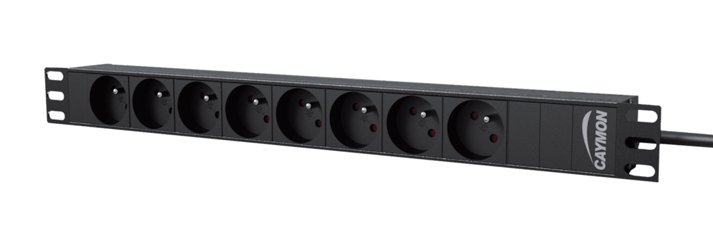 "PSR108F - 19"" power distribution unit - 8x French socket"