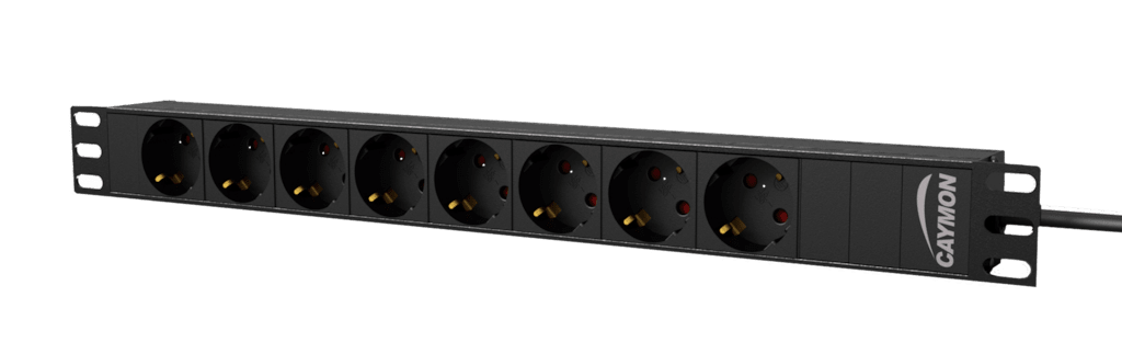 "PSR108G - 19"" power distribution unit - 8x German socket"