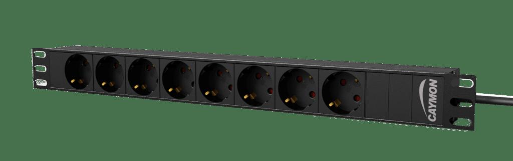 "PSR108G - 19"" power distribution unit - 8x German socket"