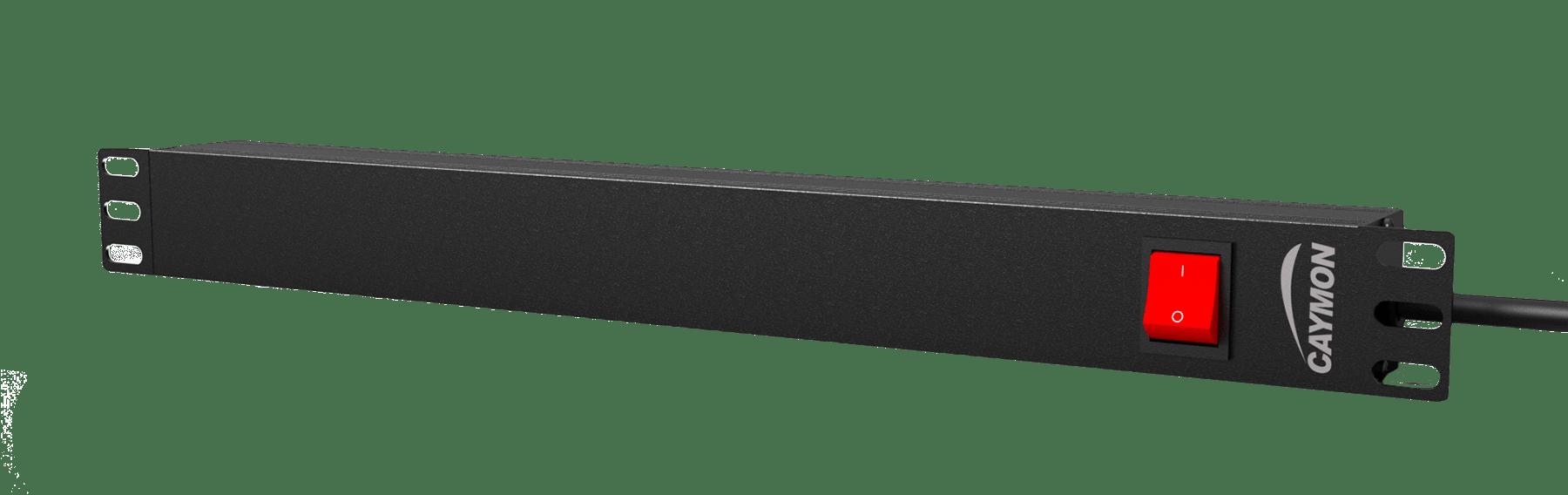 "PSR118ES - 19"" power distribution unit - 8x IEC C13 socket + rear switch"