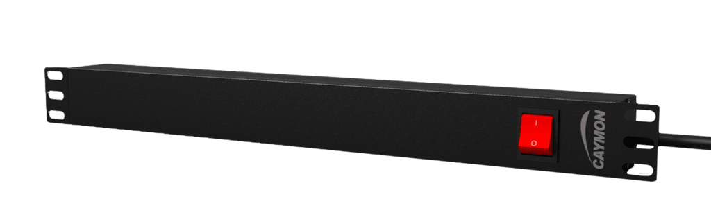 "PSR118GS - 19"" power distribution unit - 8x German socket + rear switch"
