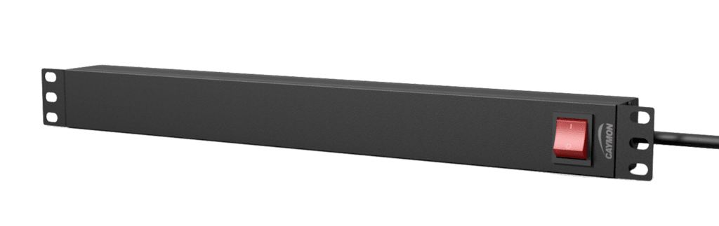 "PSR119ES - 19"" power distribution unit - 9 x IEC C13 sockets + rear switch"