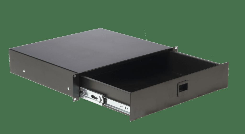 "RD210 - 19"" rack drawer - 2 unit"