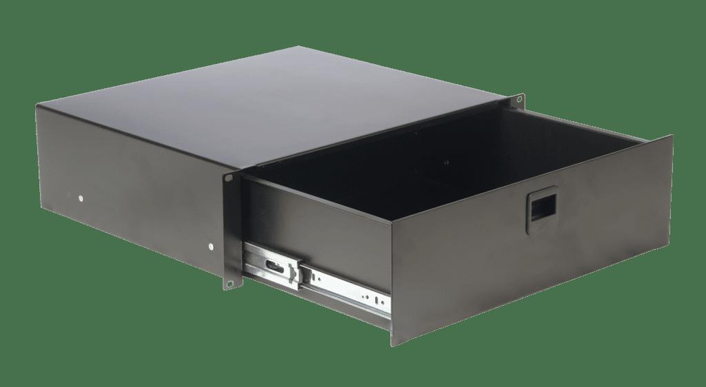"RD312 - 19"" rack drawer - 3 unit"
