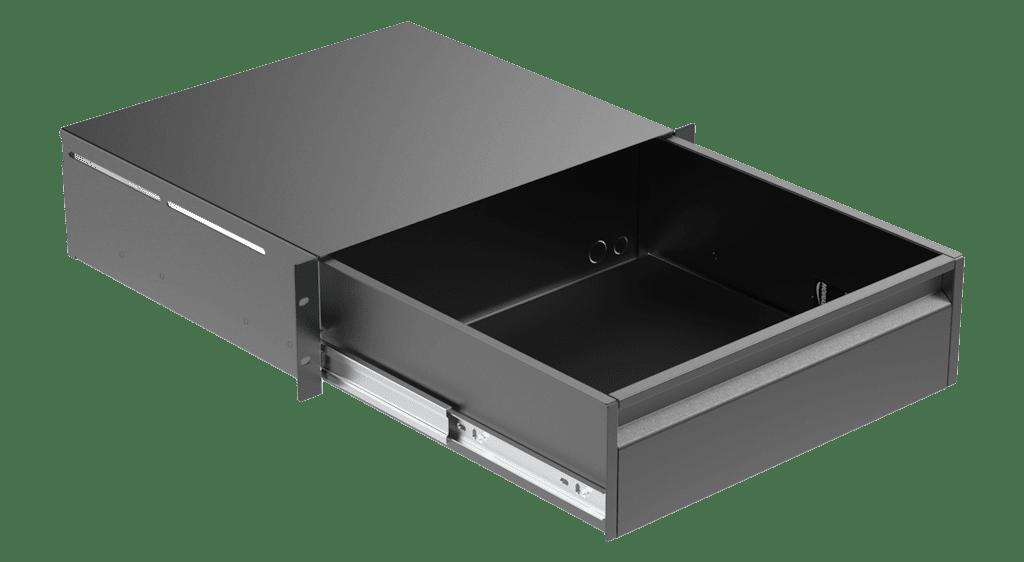 "RD320 - 19"" rack drawer - 3 unit"