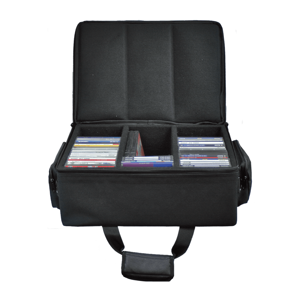 SBAG27 - Solid cd flight case for  75 cd's