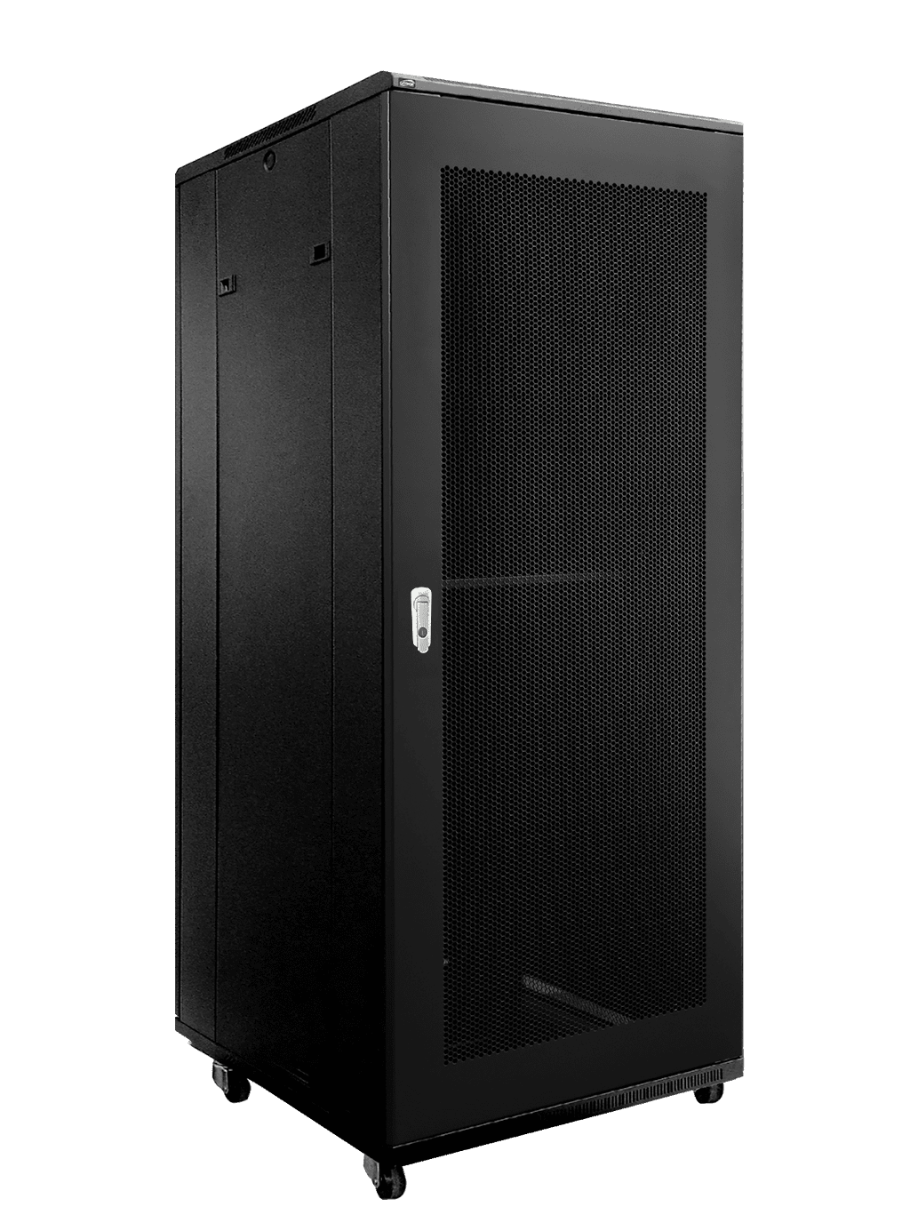 "SPR832GG - 19"" rack cabinet - 32 units - 600mm W x 800mm D - Grill front & rear door"