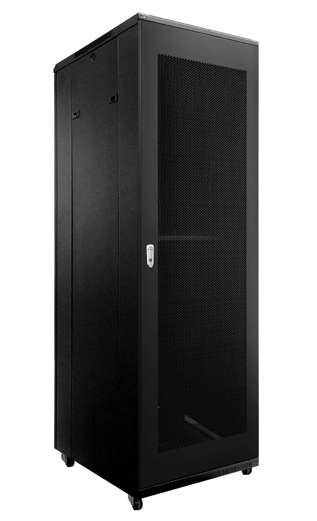 "SPR842GG - 19"" rack cabinet - 42 units - 600mm W x 800mm D - Grill front & rear door"
