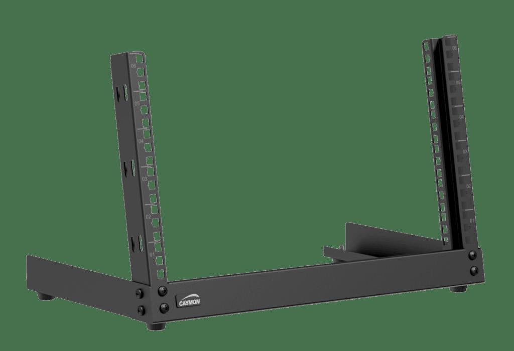 TPR306 - Desktop open frame rack - 6 units