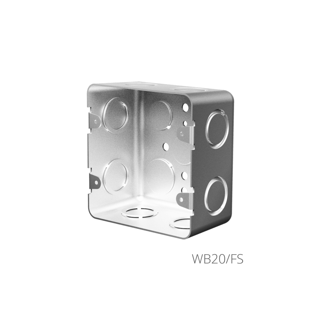 WB20 - Flush mount boxes for CASY052
