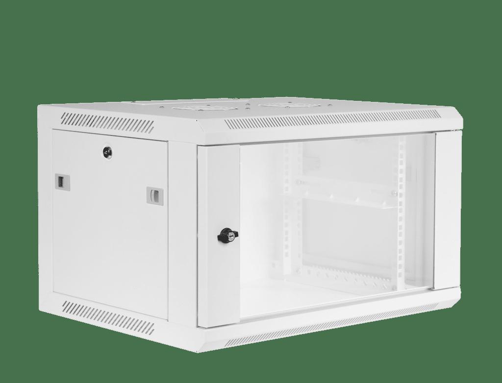 "WPR406 - 19"" wall mount rack - 6 units - 450mm depth"