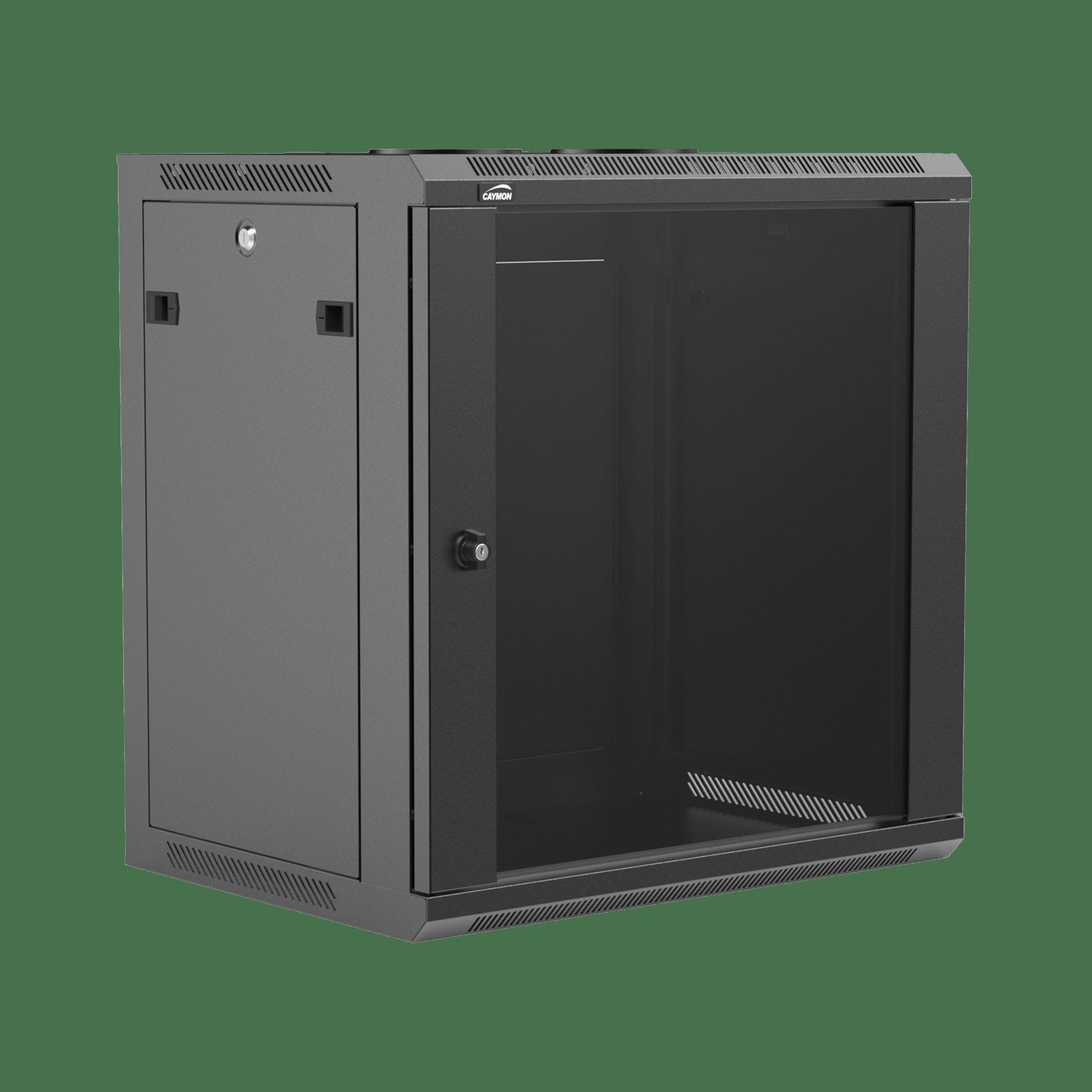 "WPR412R - 19"" wall mount rack - 12 units - 450mm depth - Removable back"