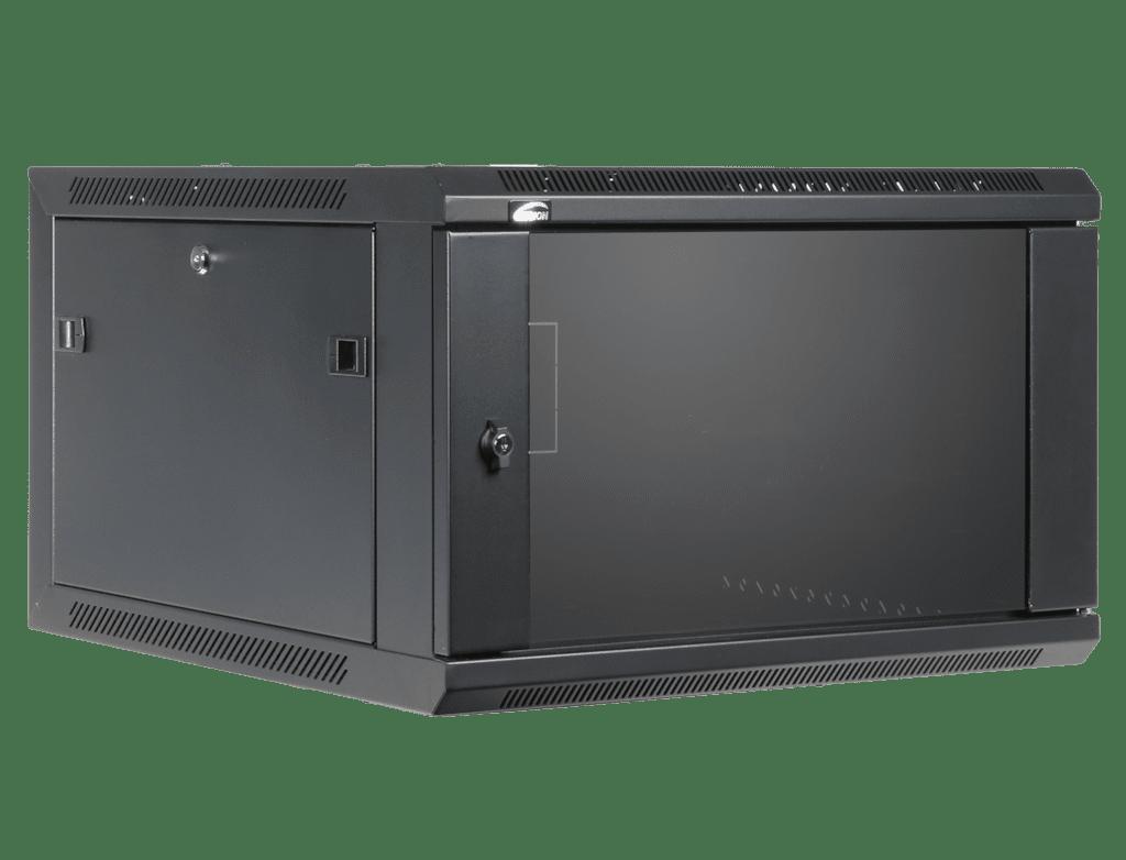 "WPR606 - 19"" wall mount rack - 6 units - 600mm depth"