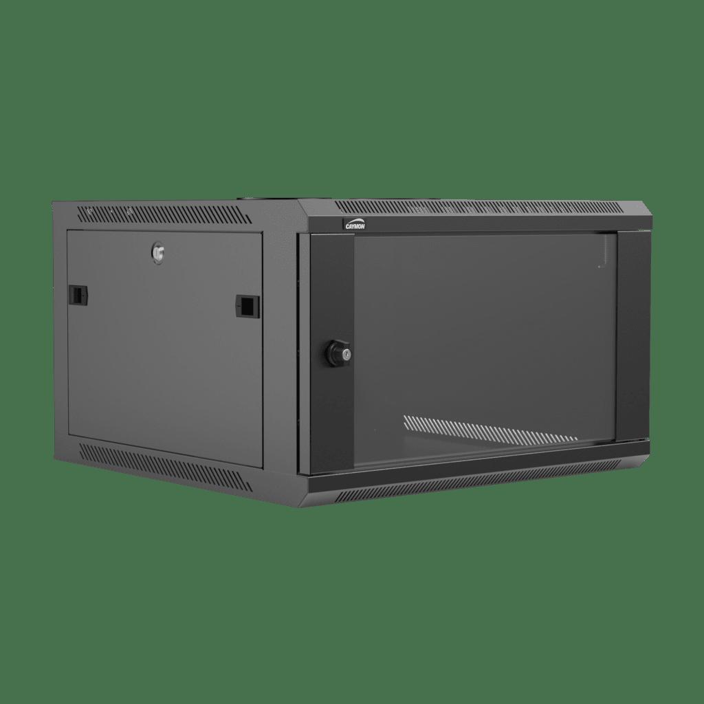 "WPR606R - 19"" wall mount rack - 6 units - 600mm depth - Removable back"