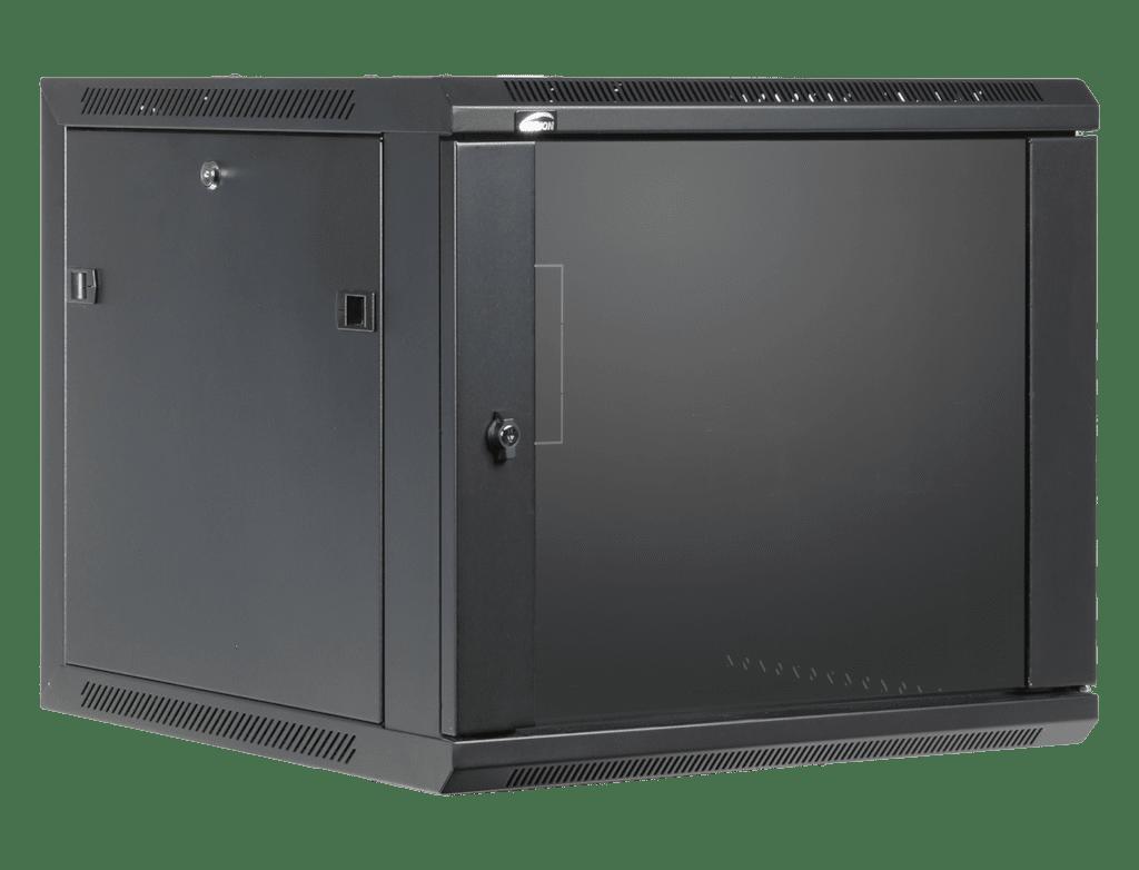 "WPR609 - 19"" wall mount rack - 9 units - 600mm depth"