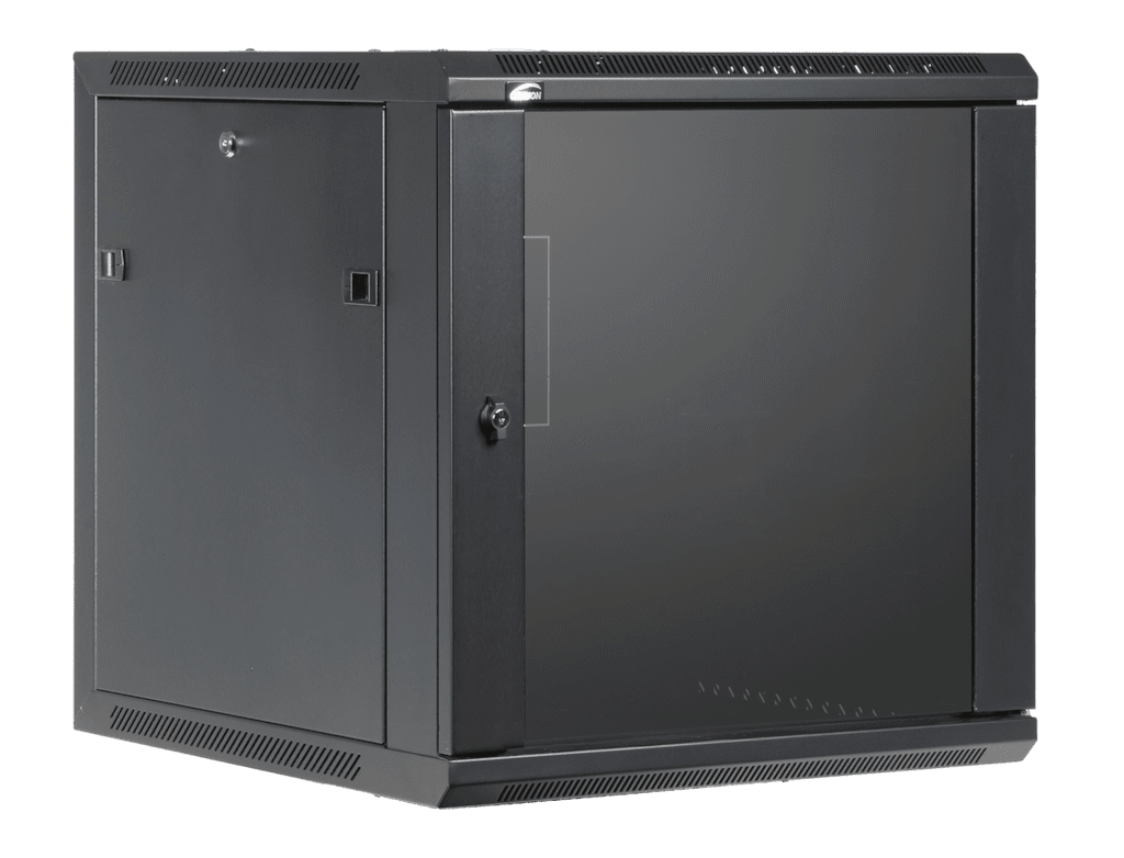 "WPR612 - 19"" wall mount rack - 12 units - 600mm depth"