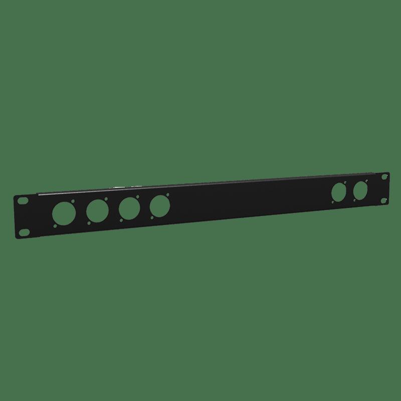 "BP106 - 19"" blind panel - 1HE - 6x D-size"