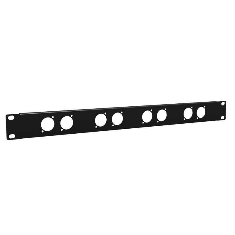 "BP108 - 19"" blind panel - 1HE - 8x D-size"