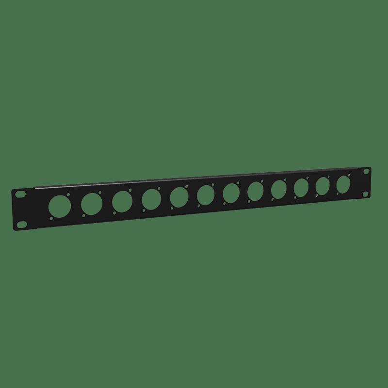 "BP112 - 19"" blind panel - 1HE - 12x D-size"
