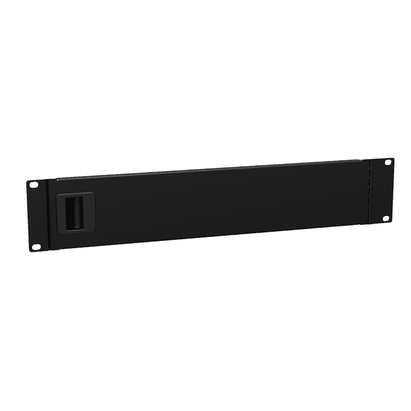 "BSD02 - 19"" blind panel with service door - 2HE"