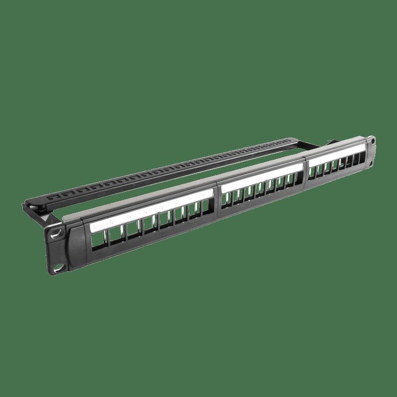 """BSK124 - 19"""" blind panel - 1HE - 24x Keystone"""