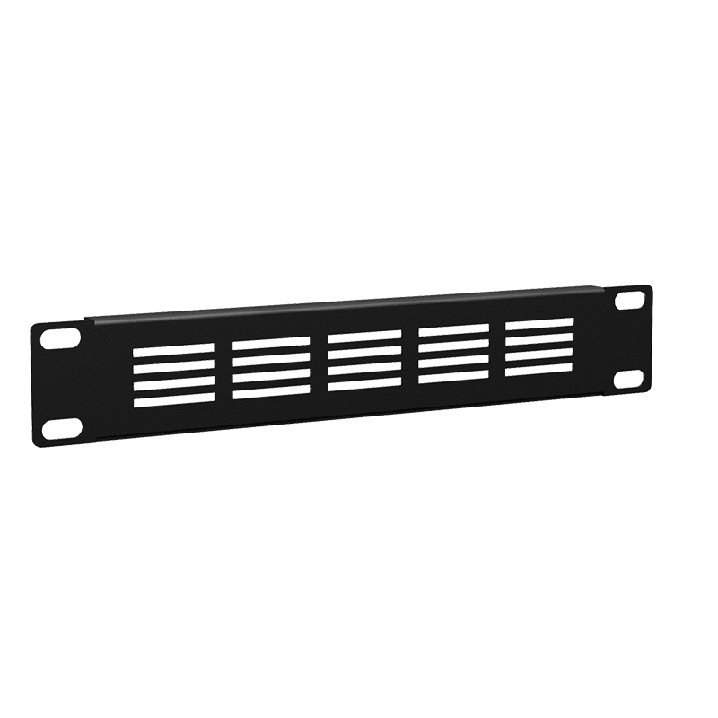 "BSVN01 - Ventilated blind cover for 9.5""/10.5"" cabinets - 1HE"