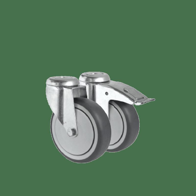CAS106WS - Wheel set for OPR3xxA, OPR4xx and OPR5xxA racks