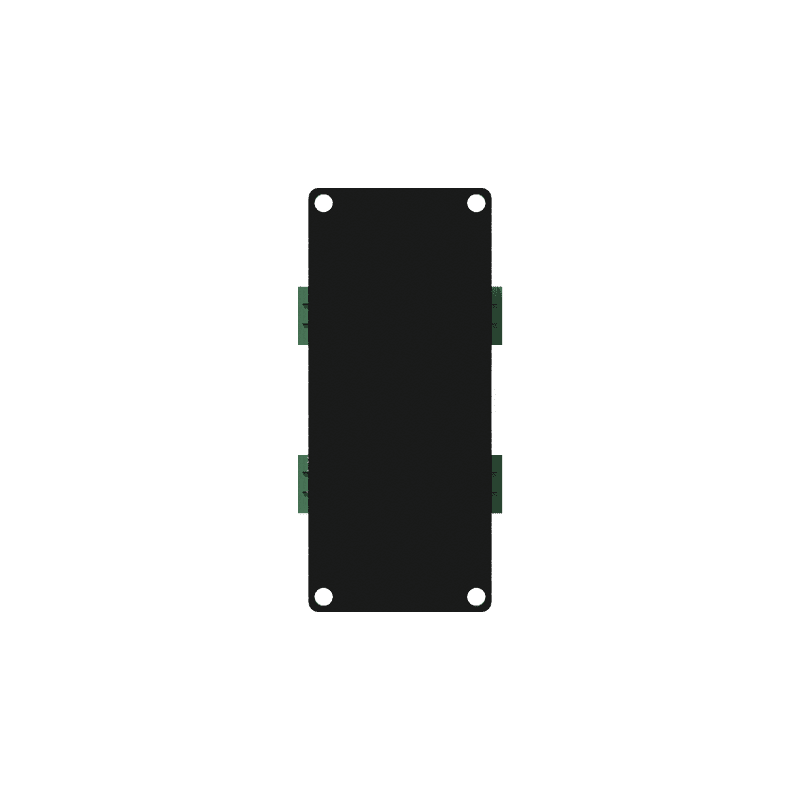 CASY191 - CASY 1 space stereo galvanic isolator shielded