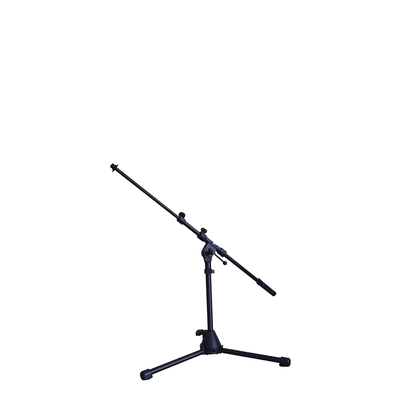 CST259 - Microphone drum stand with extendable boom arm, adjustable from 500 to 900mm.