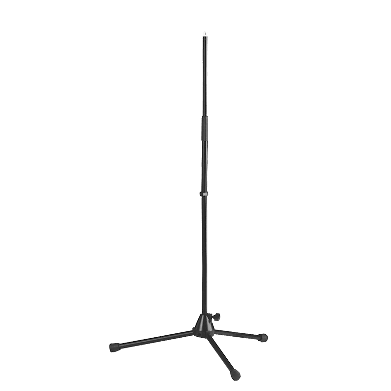 CST301 - Straight microphone stand with foldable legs.
