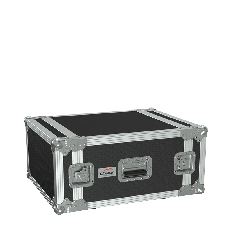 "FC106 - 19"" flightcase - 6HE - 507mm depth"