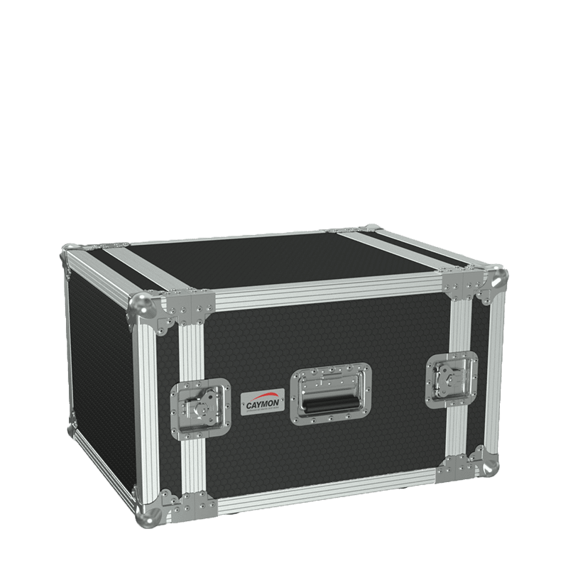 "FC108 - 19"" flightcase - 8HE - 507mm depth"