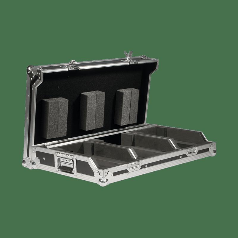 "FCDJ2100 MKII - Professional DJ flightcase for 10"" mixer & 2 pioneer cd-players"