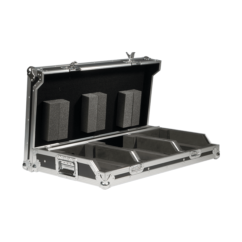 "FCDJ2100 - Professional DJ flightcase for 10"" mixer & 2 pioneer cd-players"