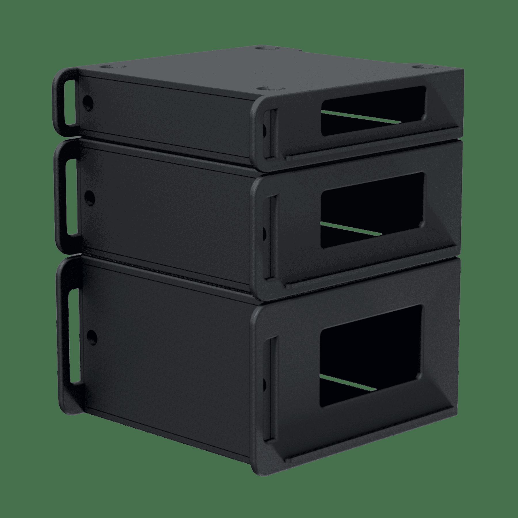 "FCI106 - Flightcase 19"" rack insert 6 HE"