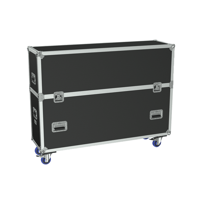 FCP510 - Flightcase for 2x flatscreen up to 55""