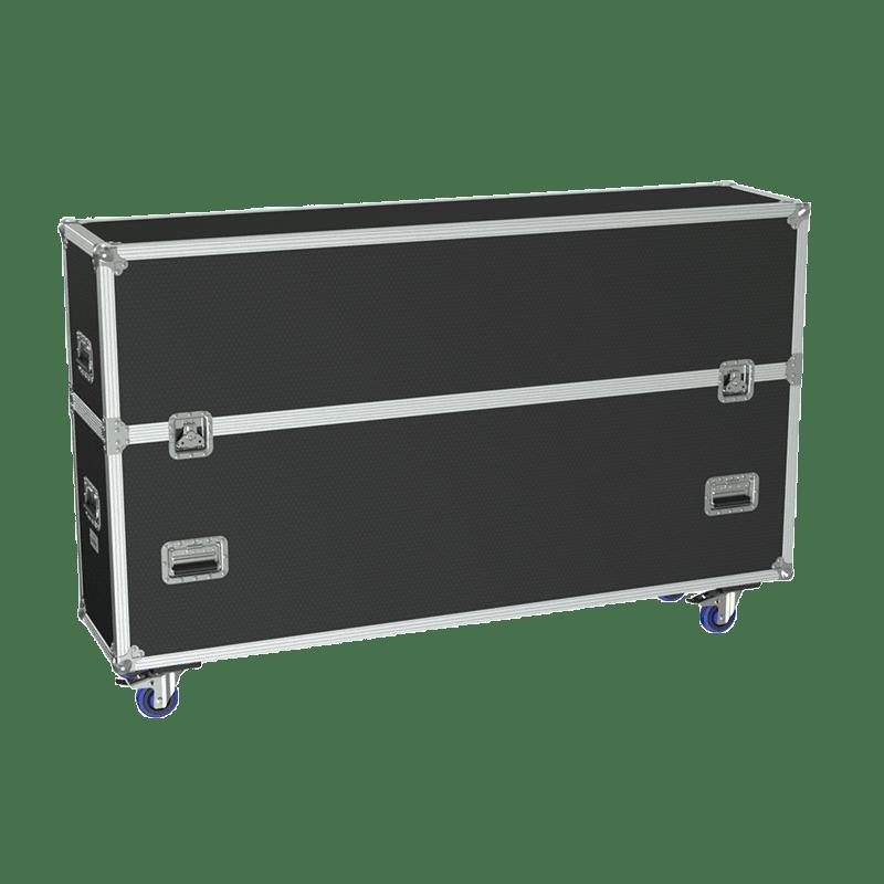 "FCP610 - Flightcase for 2x flatscreen up to 70"""