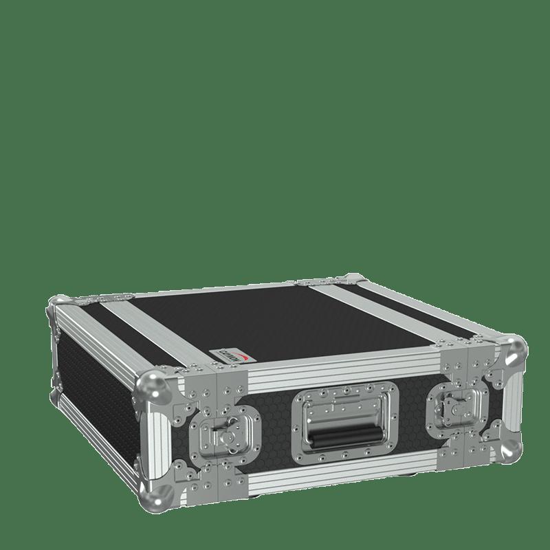 "FCX103MK2 - 19"" flightcase - 3HE - 360mm depth - 19"" mounting profile on front & rear"