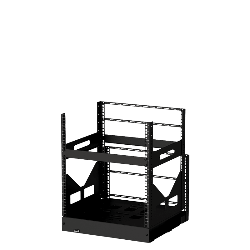 "GPR412 - 19"" slide-out rack - 12 units - 420mm depth"