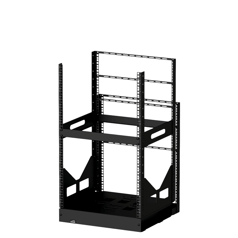 "GPR418 - 19"" slide-out rack - 18 units - 420mm depth"