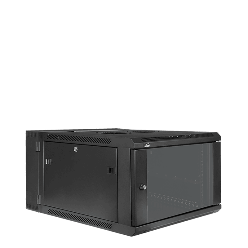"HPR506 - Double section 19"" wall mountable rack - 6 units - 550mm depth"